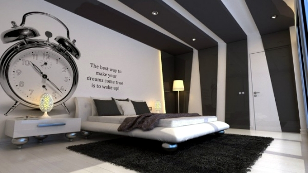 20 very cool ideas for striking bedroom wall design | Interior