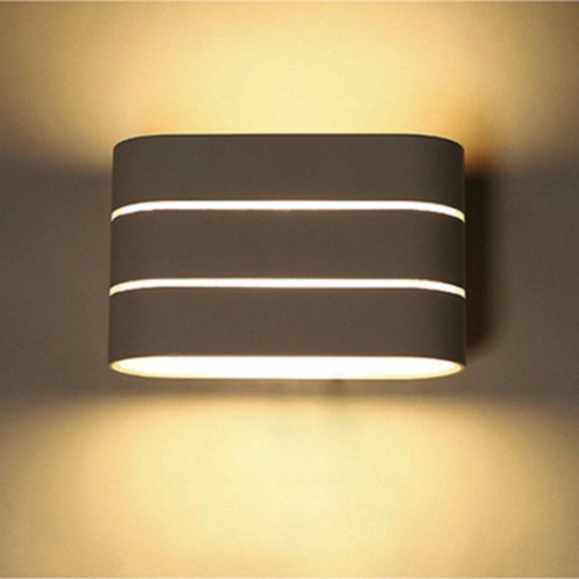 Excelvan 5W LED Bedside Lamp Wall Mount Hotel Lighting Up Down Wall