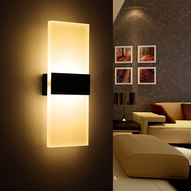 Modern Bedroom Wall Lamps Abajur Applique Murale Bathroom Sconces