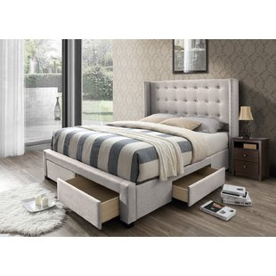 Queen Size Storage Included Beds You'll Love | Wayfair