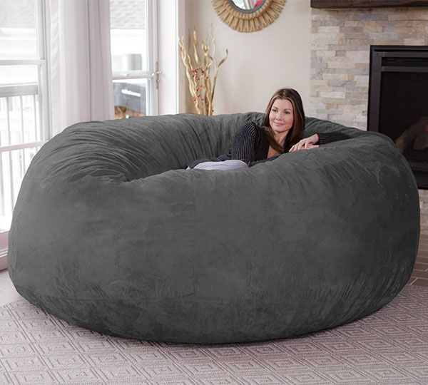Giant Bean Bag Chair | The Coolest Products | Pinterest | Room, Bean