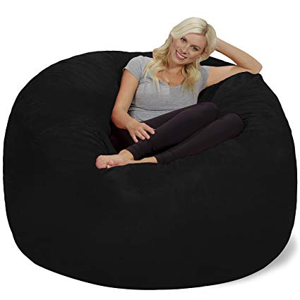 Amazon.com: Chill Sack Bean Bag Chair: Giant 6' Memory Foam