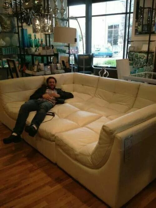 Big ass couch/sectional? | Home Decor/Homes | Pinterest | House