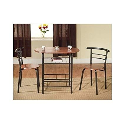 Amazon.com - Bistro Table Set Indoor for 2 Kitchen Small - Table