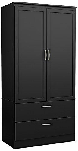 Amazon.com: South Shore 5370038 2-Door Wardrobe Armoire with