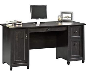 Amazon.com: Sauder 408558 Edge Water Computer Desk, L: 59.06