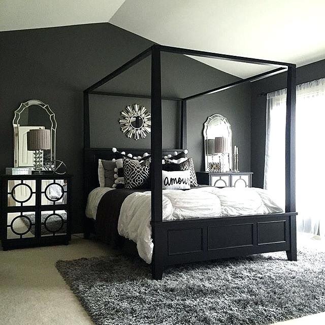 Grey Walls Black Furniture Full Size Of Bedroom Furniture Bedroom