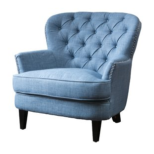 Light Blue Fluffy Chair | Wayfair