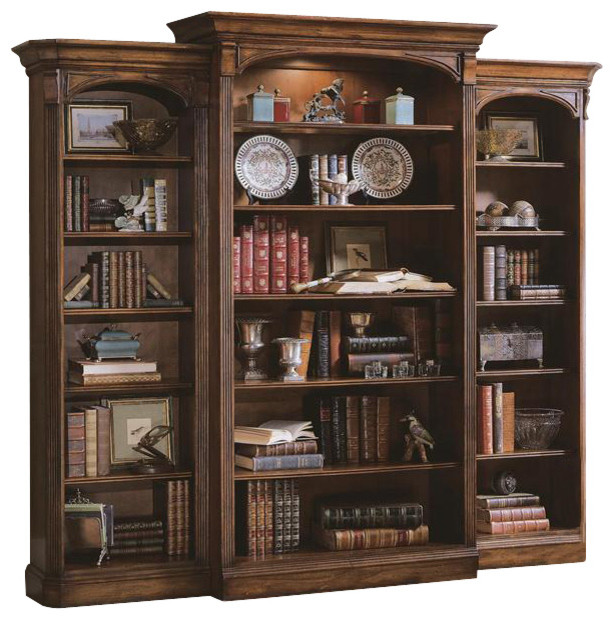Hooker Furniture Brookhaven Bookcase - Traditional - Bookcases - by