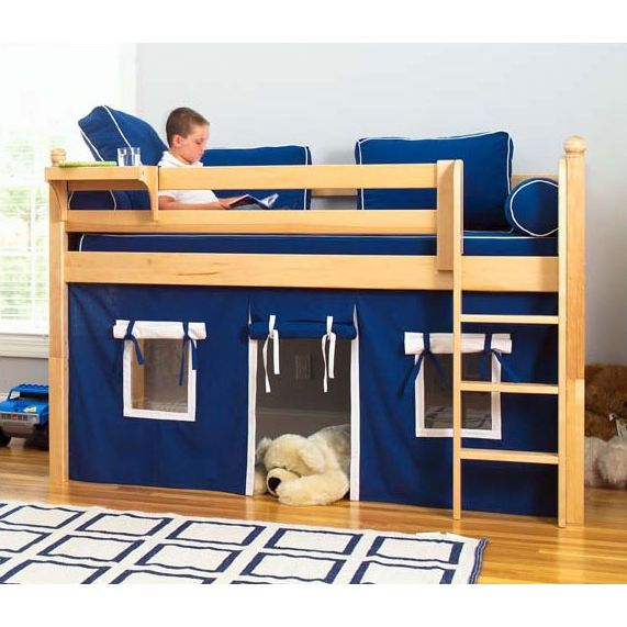 Little Boy's Bed Idea and girl too. Bella woulld go crazy for this