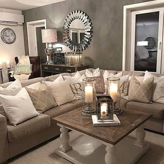 Brown Living Room Ideas Decor Beige And Decorating - mattressxpress.co