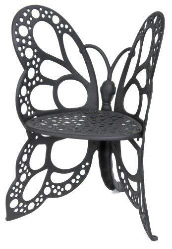 Amazon.com : Flower House FHBC205 Butterfly Chair, Black : Patio