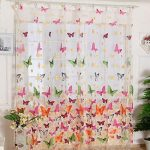 Butterfly Curtains for Beauty and   Feminine Aura at Home