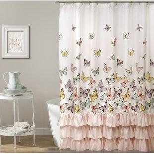Girls Butterfly Curtains | Wayfair