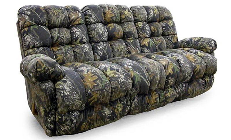 Camo Recliner Sofa - Living Room