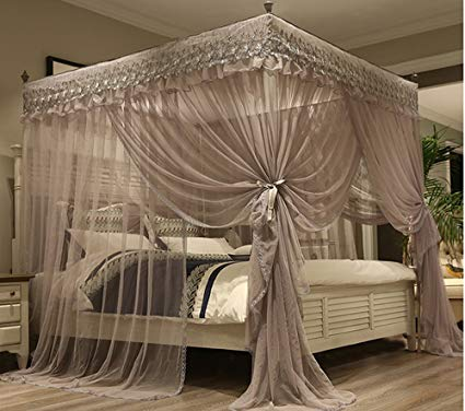 Canopy Bed Curtains for Added Style and   Sweet Dreams