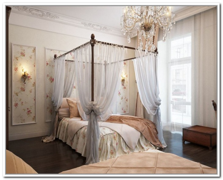 Popular of Four Poster Bed Curtains Drapes Ideas with Canopy Curtain