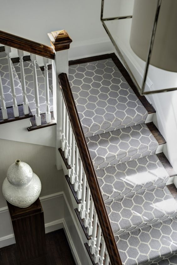 23+ Pretty Painted Stairs Ideas to Inspire your Home | New house