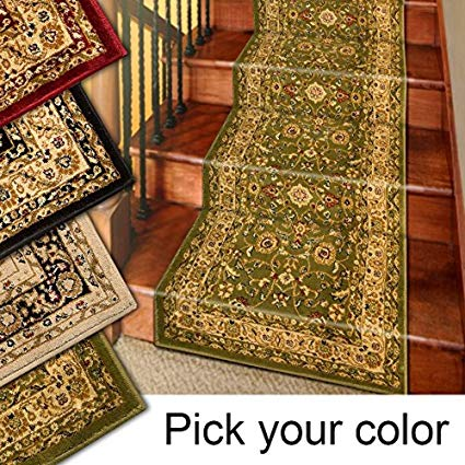 Amazon.com: Marash Luxury Collection 25' Stair Runner Rugs Stair