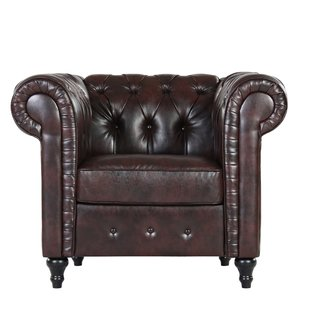 Find Royal Vintage Beauty with   Chesterfield Chair