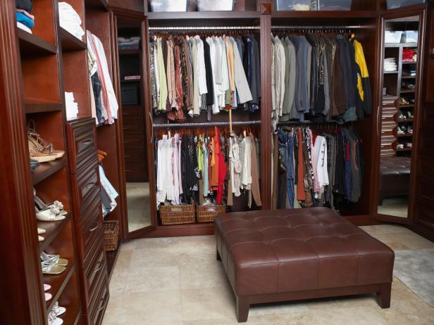 Walk-In Closet Design Ideas | HGTV