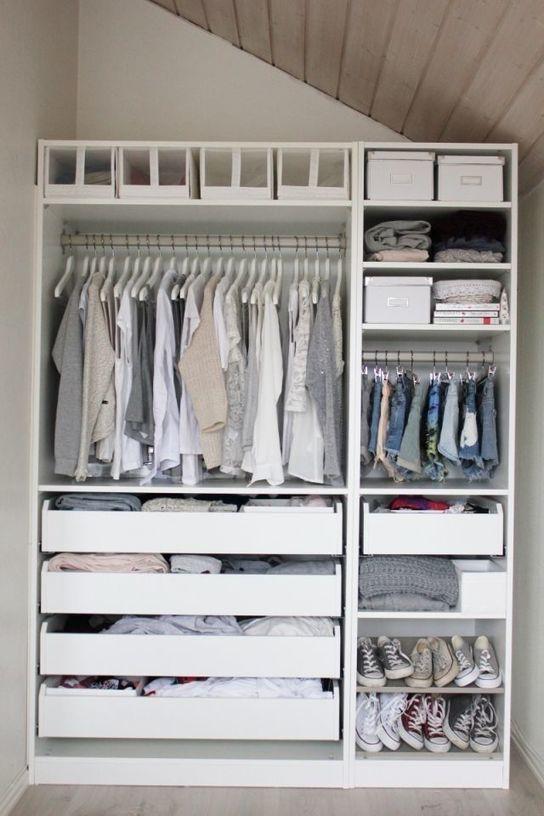 Minimalist Closet Design Ideas For Your Small Room | D.I.Y | Closet