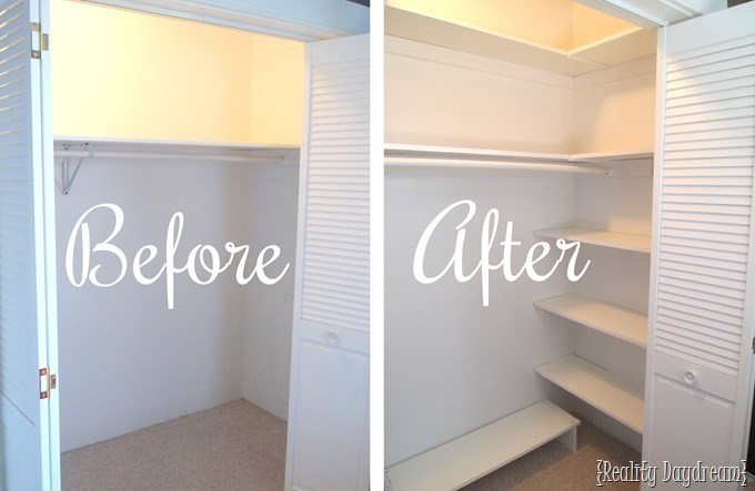 Closet Organizer Ideas for Maximizing Space! {Reality Daydream}