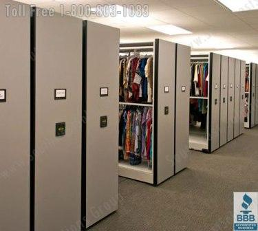 Hanging Garment Racks | Clothing Storage Shelving | Museum Costume