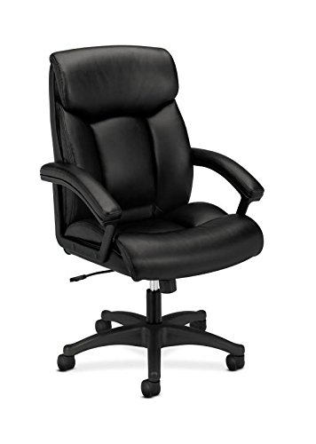 Amazon.com: HON HVL151.SB11 Leather Executive Chair - High-Back