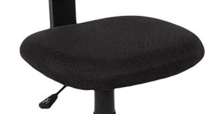 Amazon.com: AmazonBasics Low-Back Computer Task/Desk Chair with