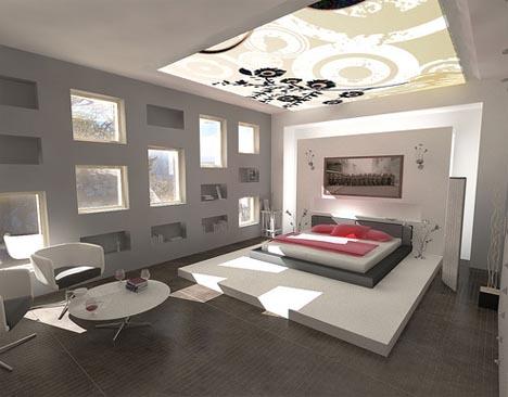 modern interior design ideas for bedrooms - Home Interior Decorating