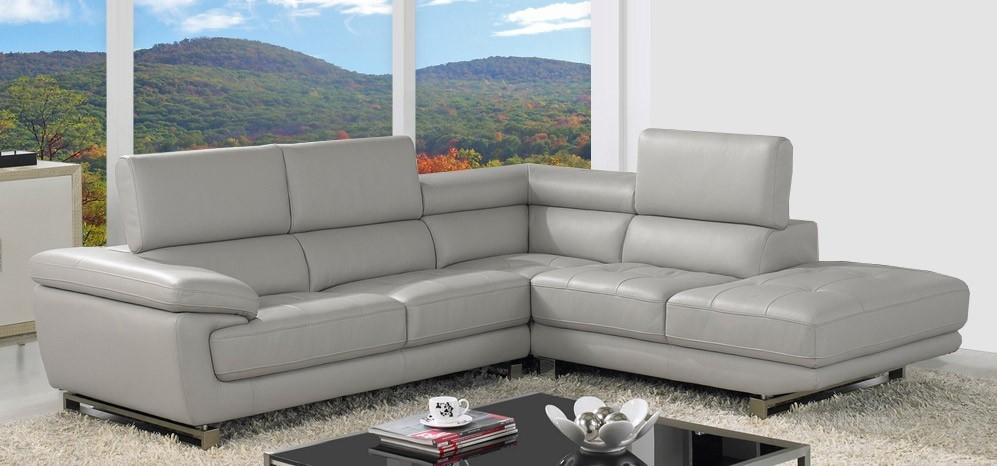 Impressive Best Corner Leather Sofa Leather Corner Sofa Grey Most