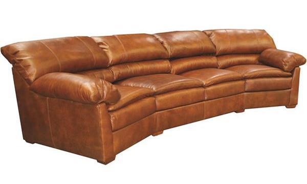 Catalina Curved Sofa - Creative Leather