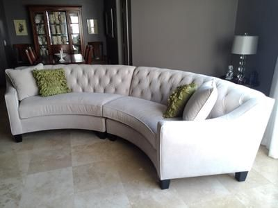 Curved Sofas New Traditional Curved Sofas Furniture Living Room