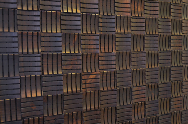 Decorative Wood Panels, Box, Decoacustic - Contemporary - Wall