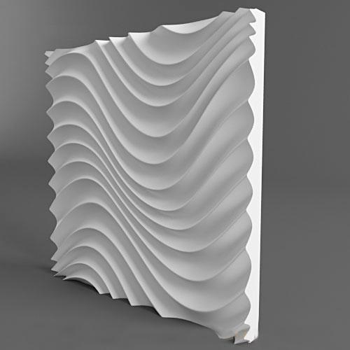 Plastic molds forms 3D decorative wall panels