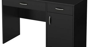 Amazon.com: South Shore 7270070 Small Computer Desk with Drawers