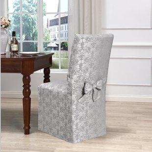 Dining Chair Short Slipcover | Wayfair