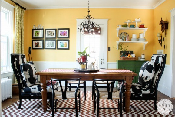 Yellow Dining Room Colors