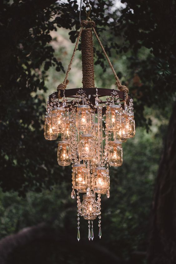 Make A DIY Chandelier Easily With These Ideas   DIY home decor