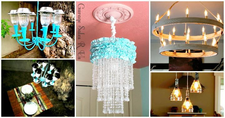 DIY Chandelier Makes Your Room Bright