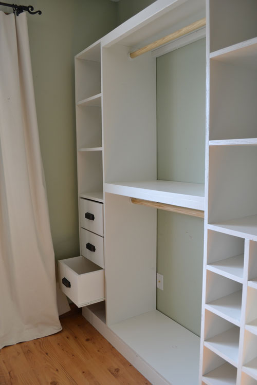 DIY Closet Makes Organizing More   Practical at Home