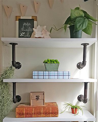 DIY Shelves Help You Organize Your Home   Better