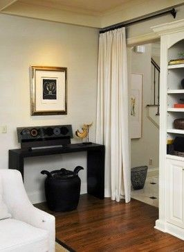 Doorway Curtain Design Ideas, Pictures, Remodel, and Decor | Home