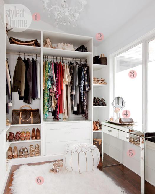 Dream Closet: 14 Gorgeous Dressing Rooms to Inspire You | more.com