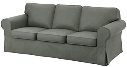 Amazon.com: Heavy Cotton for IKEA Ektorp 3 Seat Sofa Cover