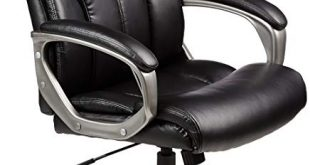 Amazon.com: AmazonBasics High-Back Executive Swivel Chair - Black