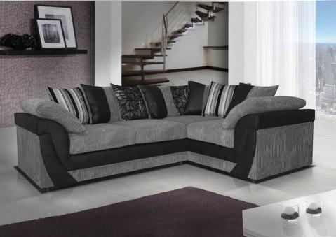Veron Fabric Corner Sofa