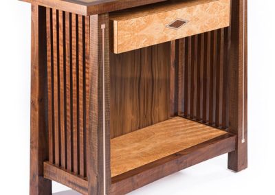 Stickley Inspired Table with Silver and Copper Inlay | CT Fine Furniture