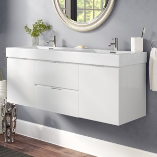 Bathroom Floating Vanity | Wayfair
